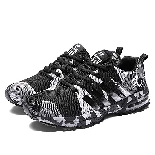 �nner Woven Camouflage Mesh Atmungsaktive Sneaker Sport Laufschuhe Schuhe Lässige Mode Patchwork Niedrige Lässige Schuhe ()