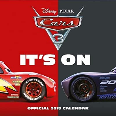 Cars 3 Official 2018 Calendar - Square Wall Format