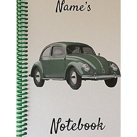 Verde Vintage Beetle–Personalizzabile (Boy Wagon)