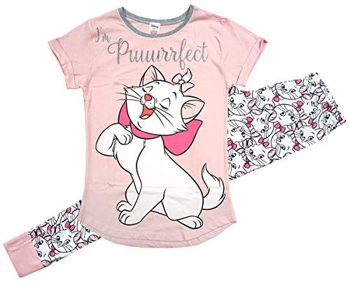 Womens Disney Aristocats Glitter Purrfect Marie Gift Pack Pyjamas Sizes  from 8 to 22 5c03afdaf