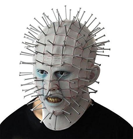 SQCOOL Horror Ghost Souls Maske Halloween Köpfe Teufel Make-up Tanz Rolle Spielen High Quality Latex (Schwarze Katzen-kostüm Diy)