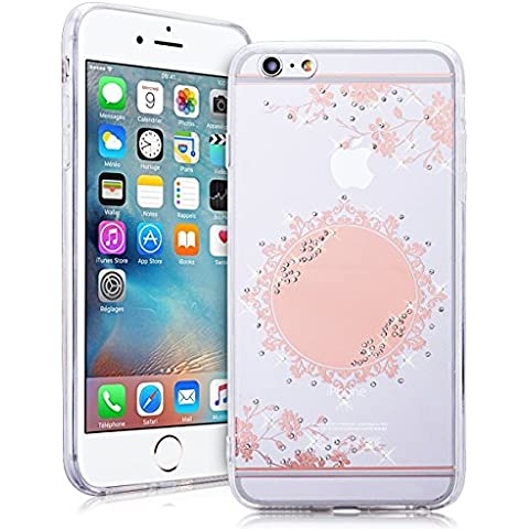 SMARTLEGEND Rigida Strass Cover per iPhone 6 Plus/6S Plus(5.5