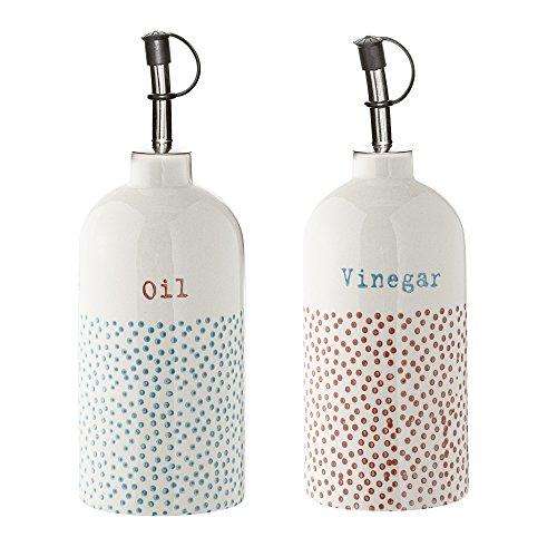 Bloomingville Flaschen für Essig & Öl Carla 2er Set