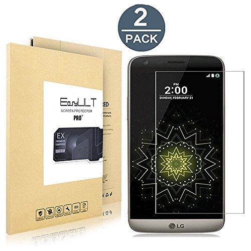 [2 Pack]LG G5 protector de pantalla,Protector de pantalla de vidrio templado para...