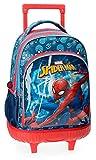 Sac à dos scolaire avec chariot Spiderman Neo