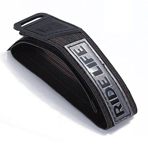 Little Sporter Hosen Klettband, Hosenband mit Klettverschluss, Selbstklebend zum Joggen, Radfahren, Reiten 2 Stücke (Hose Reiten)