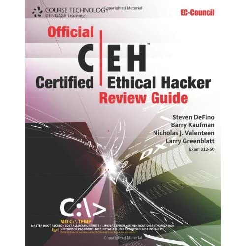 Official Certified Ethical Hacker Review Guide (EC-Council Press) by Steven DeFino (2009-11-09)