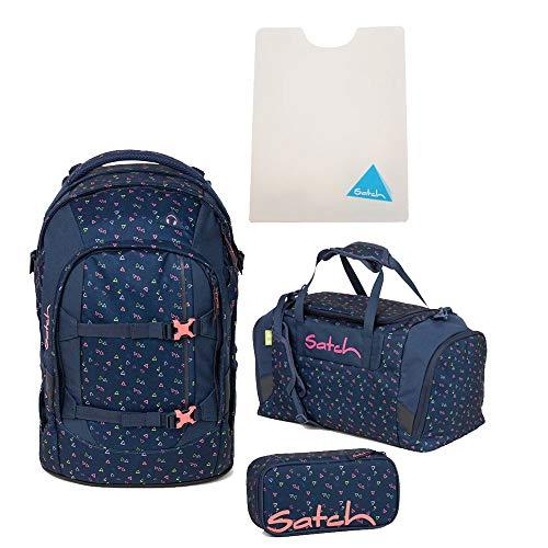 Satch Pack Funky Friday - Zaino per la scuola, 4 pezzi