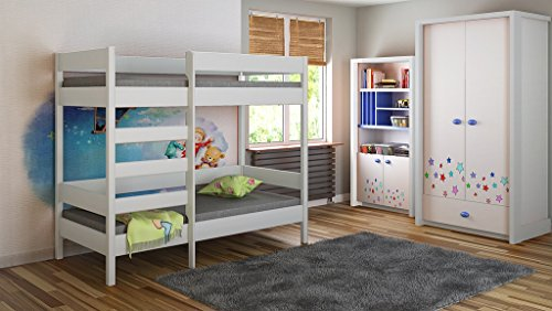 Bunk Beds - Kids Children Juniors Single 140x70,...