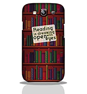 Reading Is Dreming -Mobile Back Case Cover For Samsung Galaxy S3