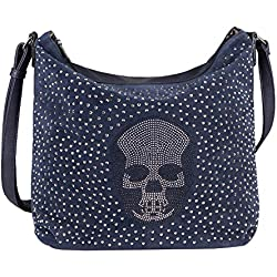 OBC Only-Beautiful-Couture - De hombro para mujer, azul, 38x31x14 cm