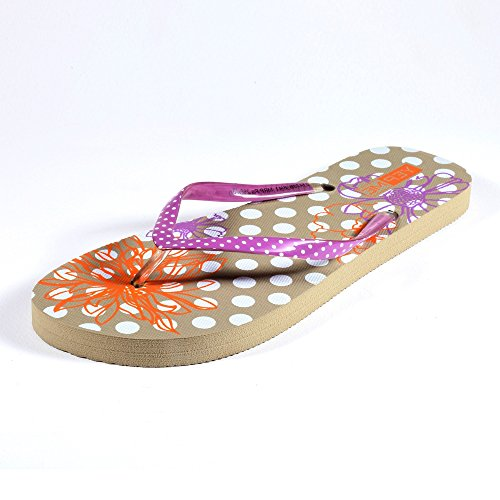 Yepme Women's Beige Synthetic Flip-Flops YPMFOOT0035_5  available at amazon for Rs.269