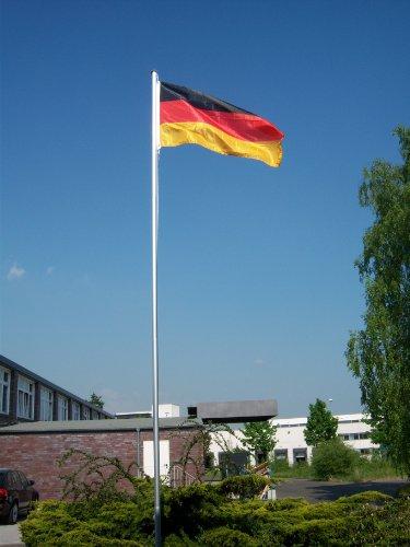Wohnwerk! Flaggenmast 6m mit Deutschlandfahne und extra Fahne Ihrer Wahl! Fahnenmast