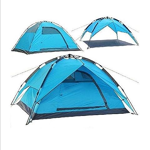 XG 3-4 personnes salle automatique 2000-3000 mm barre de fibre de verre étanche manuelle randonnée camping