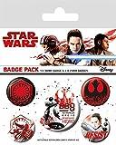 Star Wars Episode 8 - Die letzten Jedi - Resist Button-Pack Mehrfarbig
