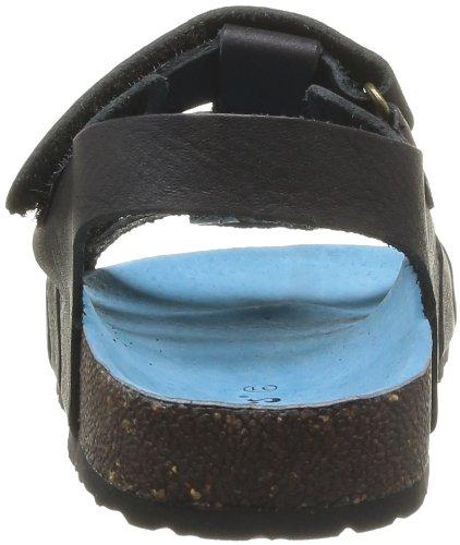 Kickers Magino, Sandales garçon Noir (Noir Autre)