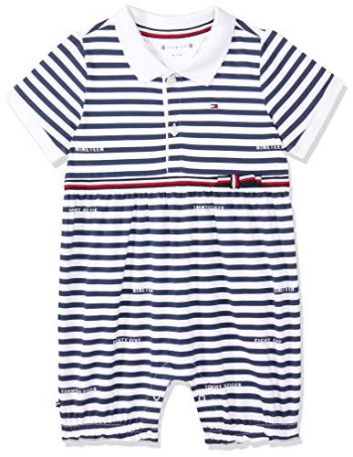 5c8c0a0abc2f Tommy Hilfiger Baby Girl Stripe Shortall S s Grenouillère Mixte bébé