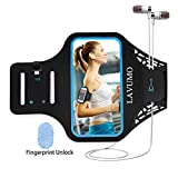 Sport Armband Handy for iPhone 7 6 6s 8 Joggen Laufen Gym Armtasche LAVUMO Waterproof Wristband Resistant with Key Pocket & Small Money für Samsung Galaxy a3 HTC ONE X iphone SE 5S 5 5C 5 Unter 4.7""