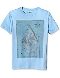Volcom mapstone lightweight t-shirt pour garçon à manches courtes pour homme, taille
