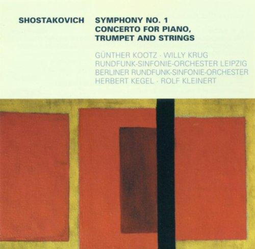 Dmitri Shostakovich: Symphony No. 1 / Piano Concerto No. 1 (Stockigt, Garay, Kootz, Krug)
