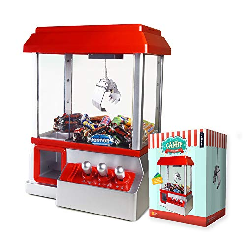 Mikamax - Candy Grabber - Candy Machine - Rojo - Máquina