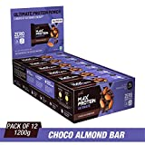 RiteBite Max Protein Ultimate Choco Almond Bars 1200g Pack of 12 (100g x 12)