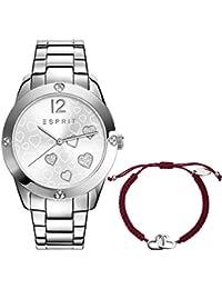 Esprit Damen-Armbanduhr Analog Quarz Edelstahl ES108872001
