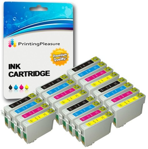 20 Cartucce d'inchiostro compatibili per Epson Stylus S20 S21 SX100 SX105 SX110 SX115 SX200 SX205 SX210 SX215 SX218 SX400 SX415 SX515W SX600FW D78 D92 D120 DX4000 B300F   T0711 T0712 T0713 T0714 T0715