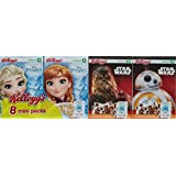 Kellogg's Céréales Disney Mini Paquet Star Wars/Reine des Neiges 2212 g - Lot de 3