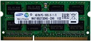 Samsung ram memory 4GB DDR3 PC3 10600, 1333Mhz, 204 PIN, SODIMM for laptops