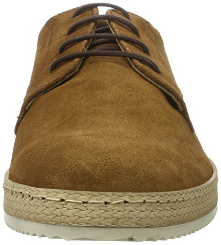 BIANCO - Frühjahrs Schnürer, Scarpe stringate Uomo Marrone (Light Brown)
