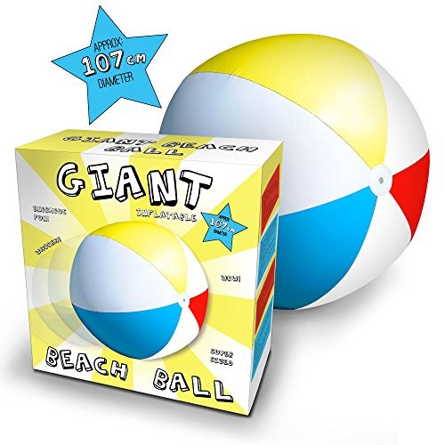 Riesiger aufblasbarer XXL Wasserball - 107 cm
