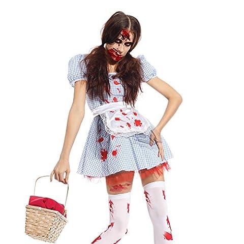 Zombie Halloween Costumes Filles - taille unique Deguisement ALICE monde de merveille