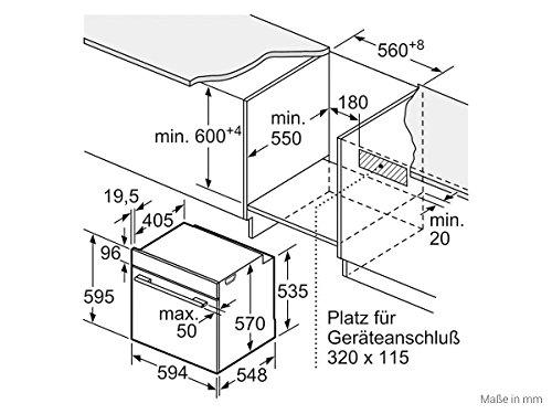 Siemens EQ511KA00Z Set Einbauherd HE510ABS0 + Glaskeramikkochfeld EA645GE17