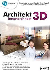 Architekt 3D Innenarchitekt - Avanquest Platinum Edition [Download]