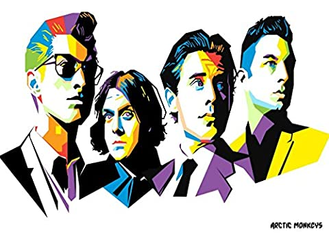 10 Arctic Monkeys Alex Turner Mat helders Jamie Cook Nick O