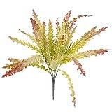 Künstliche Seetang Gras 5 Branch Laub Kunststoff Pflanze Haus Garten Dekor - Multi1