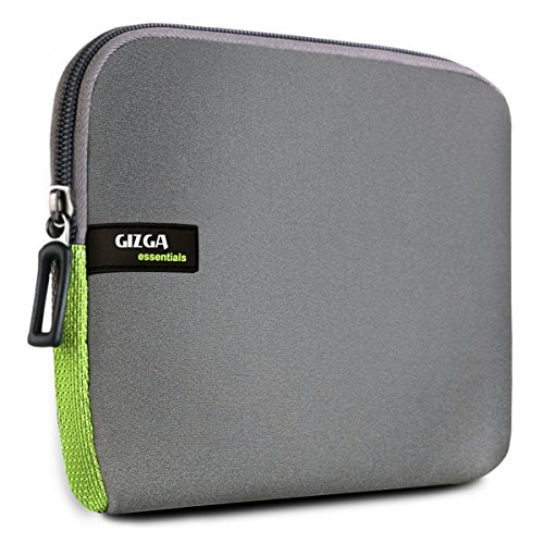 Gizga Essentials Premium 6-Inch Sleeve for Amazon Kindle Paperwhite, Kindle E-Reader, Kindle Voyage & Kindle Oasis (Gray-Green)  available at amazon for Rs.399
