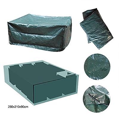 Oule GmbH Schutzhülle Gartenmöbel 250 x 210 x 90 cm aus Polyethylen 120g/m² in Grün von OULE bei Gartenmöbel von Du und Dein Garten
