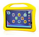 Xoro KidsPAD 902 gelb 22.9 cm (9,0 Zoll) Tablet-PC für Kinder (Rockchip RK3126, Quad Core 1.3GHz, 1GB RAM, 8GB SSD, WLAN, Bluetooth 4.0, 2x CAM, Android 4.4.4 KitKat) inkl. Gelber Silikon-Schutzhülle