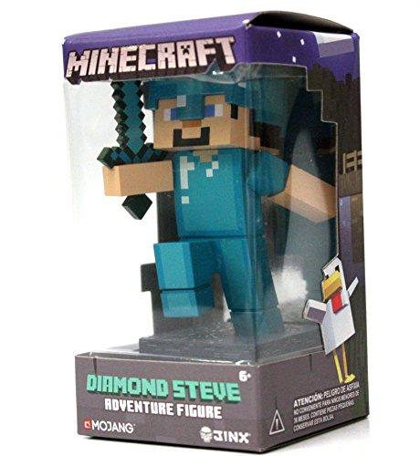 Minecraft Diamond Steve Collectible Adventure Figure, Series 1