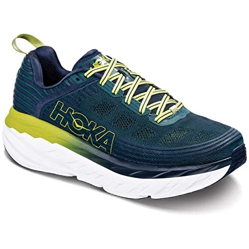 51GpdMGpnrL. SS500  - Hoka One One Bondi 6 Running Shoes Men deep Teal/Green Oasis 2019