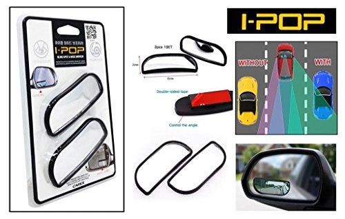 ManeKo Genuine/Original CAREX I-POP Flexible Blind Spot Mirror & Wide Rectangle Shape Convex Side Rear View Mirror for Maruti Suzuki Ertiga Car All Models & Types  available at amazon for Rs.325