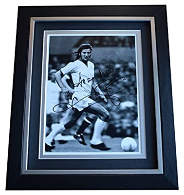Sportagraphs Frank Worthington SIGNED 10x8 FRAMED Photo Autograph Display Leicester City COA PERFECT GIFT