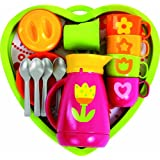 Gowi Toys 454-41 Heart Coffee Service (Pink)