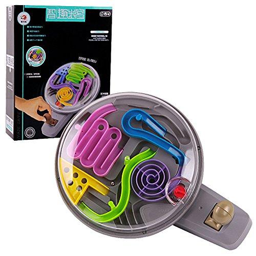 Wokee 2-in-13D Dreidimensionale Labyrinth Spiel Pädagogisches Spielzeug für Kinder & Erwachsene,Koordinations und Geschicklichkeitsspiel