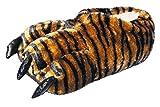 Pfüller Tigertatzen Tierhausschuhe lustige Pantoffel Kralle (41/42)