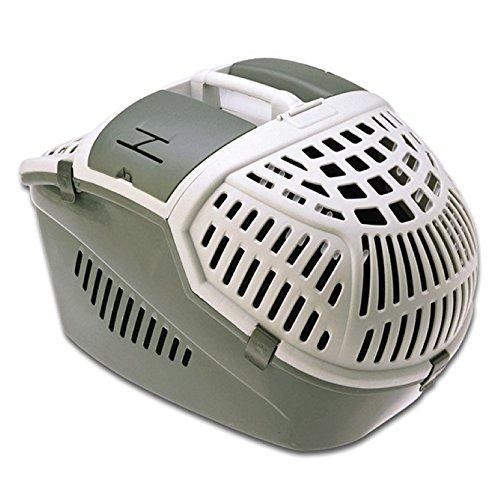 "Nobby Transportbox für Hunde ""Avior"" 57,5 x 39,5 x 40,5 cm, grau"