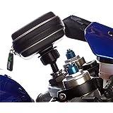 """UltimateAddons–Tenedor Tallo motocicleta soporte para bicicleta con funda impermeable para TomTom XL de hasta 5"""""""