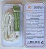 Kit reparación estufas y chimeneas cordón fibra de vidrio + pegamento (10mm)